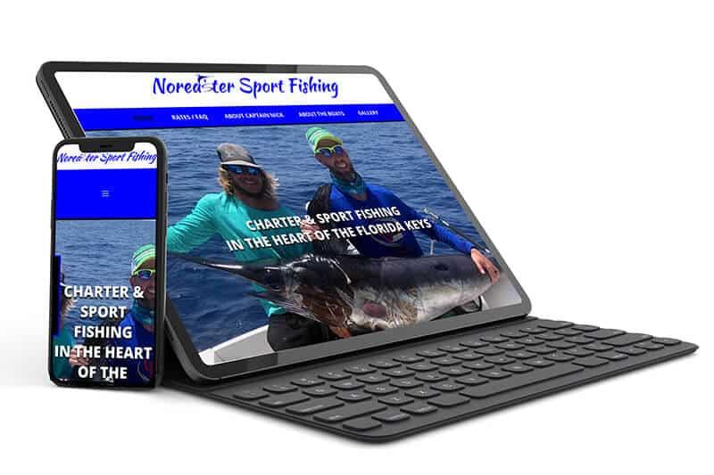 Website Design - Marathon Florida Charter Fishing