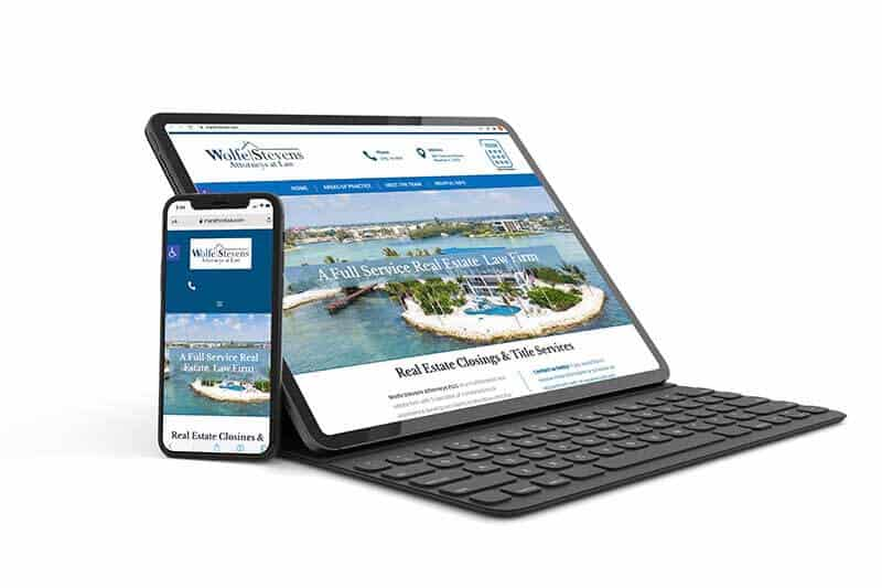 Website Design - Marathon Florida Real Estate Law