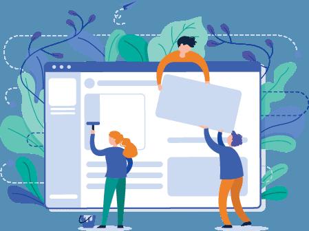 Digital Marketing Services: Website Design Mockups