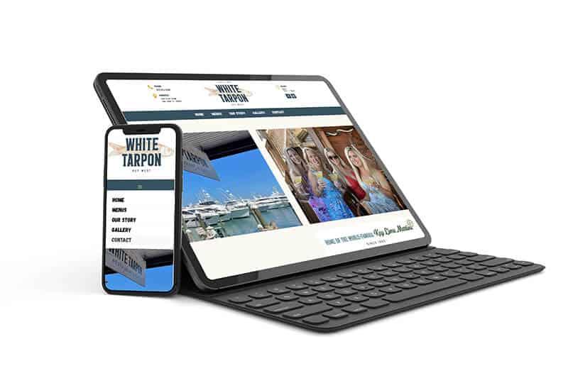 Website Design - Key West Restaurant